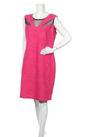 Рокля Frank Lyman, Размер XL, Цвят Розов, Полиестер, еластан, Цена 7,10лв.