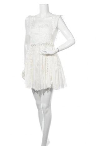 Φόρεμα Free People, Μέγεθος L, Χρώμα Εκρού, Βαμβάκι, Τιμή 41,56€