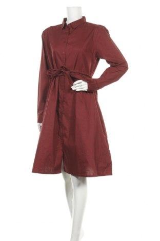 Φόρεμα Ichi, Μέγεθος L, Χρώμα Κόκκινο, Βαμβάκι, Τιμή 19,18€