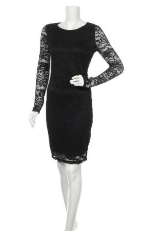 Φόρεμα Ichi, Μέγεθος S, Χρώμα Μαύρο, 90% πολυαμίδη, 10% ελαστάνη, Τιμή 33,49€