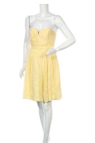 Φόρεμα J.Crew, Μέγεθος S, Χρώμα Κίτρινο, Μετάξι, Τιμή 30,39€