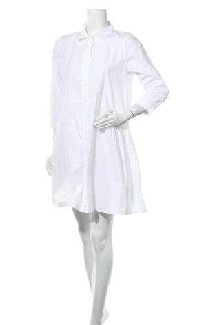 Φόρεμα Kaffe, Μέγεθος M, Χρώμα Λευκό, Βαμβάκι, Τιμή 41,02€