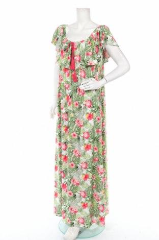 Φόρεμα Laura Torelli, Μέγεθος XL, Χρώμα Πολύχρωμο, 96% πολυεστέρας, 4% ελαστάνη, Τιμή 16,24€