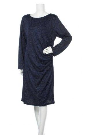 Рокля Liz Jordan, Размер XL, Цвят Син, 91% полиестер, 6% метални нишки, 3% еластан, Цена 30,35лв.