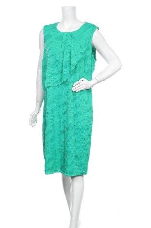 Φόρεμα Liz Jordan, Μέγεθος XXL, Χρώμα Πράσινο, 99% πολυεστέρας, 1% ελαστάνη, Τιμή 29,55€