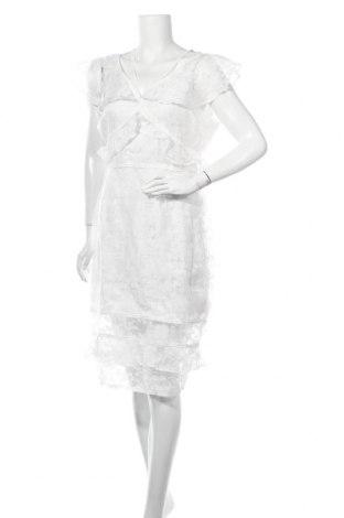 Φόρεμα Lost Ink, Μέγεθος L, Χρώμα Λευκό, 63% βισκόζη, 37% ελαστάνη, Τιμή 15,41€