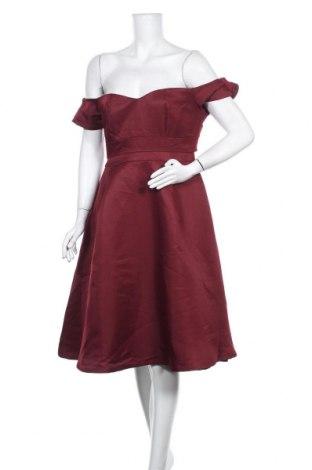 Φόρεμα Lost Ink, Μέγεθος M, Χρώμα Κόκκινο, Πολυεστέρας, Τιμή 33,49€