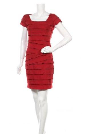 Φόρεμα Max Studio, Μέγεθος S, Χρώμα Κόκκινο, 77% πολυεστέρας, 18% βισκόζη, 5% ελαστάνη, Τιμή 26,91€