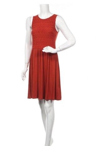 Φόρεμα Mint & Berry, Μέγεθος S, Χρώμα Πορτοκαλί, 65% βισκόζη, 35% πολυαμίδη, Τιμή 18,95€