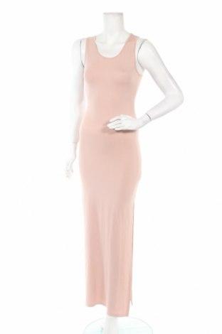 Φόρεμα Nly Trend, Μέγεθος XS, Χρώμα  Μπέζ, 94% βισκόζη, 6% ελαστάνη, Τιμή 15,59€