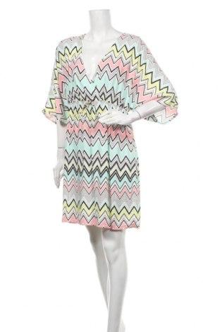 Φόρεμα Now, Μέγεθος XL, Χρώμα Πολύχρωμο, Βισκόζη, Τιμή 17,90€