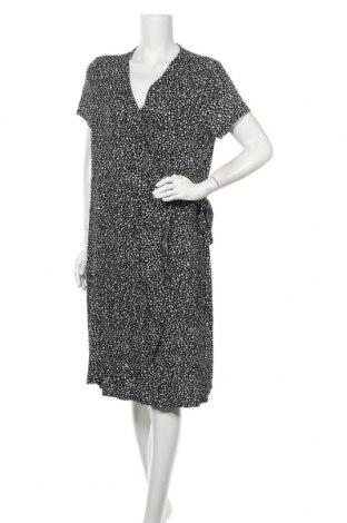 Φόρεμα Now, Μέγεθος XXL, Χρώμα Μαύρο, Βισκόζη, ελαστάνη, Τιμή 16,05€