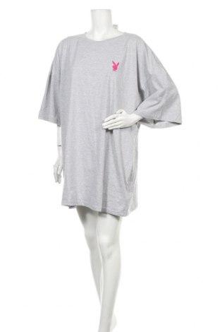 Φόρεμα Playboy x Missguided, Μέγεθος M, Χρώμα Γκρί, 55% πολυεστέρας, 45% βαμβάκι, Τιμή 20,10€