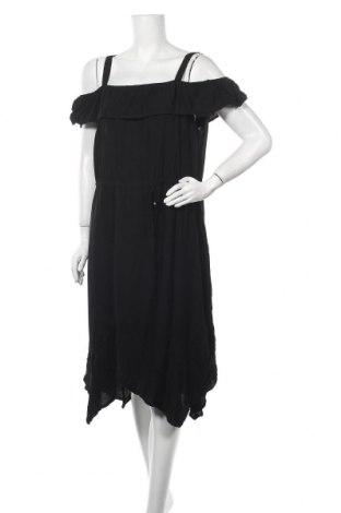 Φόρεμα Rockmans, Μέγεθος XXL, Χρώμα Μαύρο, Βισκόζη, Τιμή 16,66€