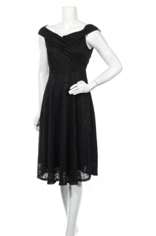 Φόρεμα SHEIN, Μέγεθος M, Χρώμα Μαύρο, 55% βαμβάκι, 35% πολυαμίδη, 10% πολυεστέρας, Τιμή 14,91€