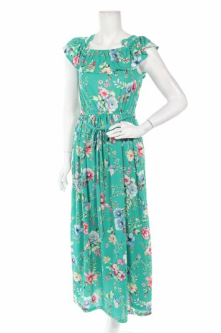 Φόρεμα Springfield, Μέγεθος S, Χρώμα Πράσινο, 99% πολυεστέρας, 1% ελαστάνη, Τιμή 24,32€