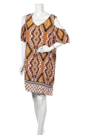 Φόρεμα Suzanne Grae, Μέγεθος XL, Χρώμα Πολύχρωμο, Βισκόζη, Τιμή 18,19€