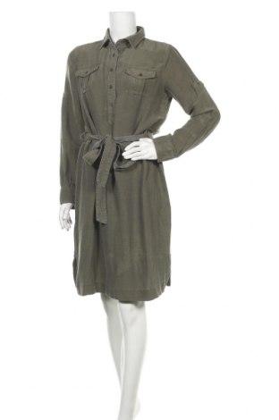 Φόρεμα Timberland, Μέγεθος L, Χρώμα Πράσινο, 77% άλλα υφάσματα, 23% μετάξι, Τιμή 53,12€