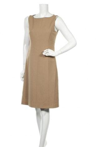 Φόρεμα Un Deux Trois, Μέγεθος M, Χρώμα  Μπέζ, 68% μαλλί, 28% πολυεστέρας, 4% ελαστάνη, Τιμή 32,94€