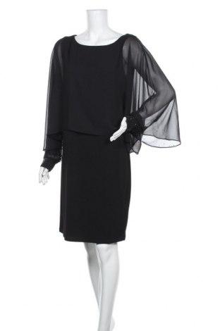 Рокля Vera Mont, Размер XL, Цвят Черен, 95% полиестер, 5% еластан, Цена 96,46лв.
