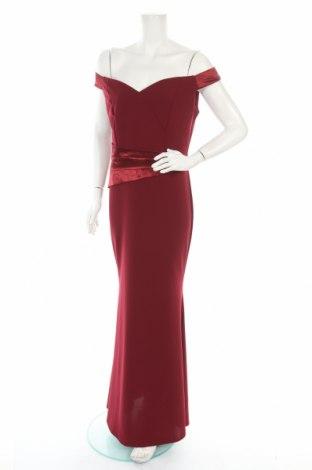 Φόρεμα Wal G, Μέγεθος L, Χρώμα Κόκκινο, 95% πολυεστέρας, 5% ελαστάνη, Τιμή 38,40€