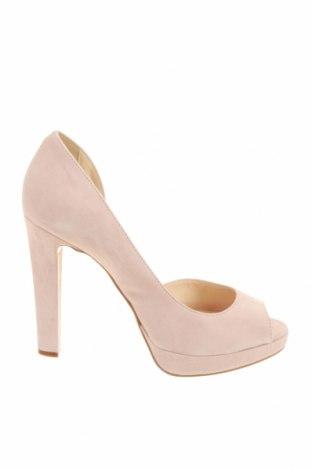 Дамски обувки Mai Piu Senza, Размер 40, Цвят Розов, Естествен велур, Цена 38,18лв.