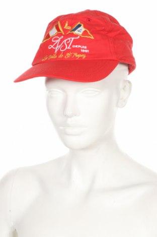 Шапка Robe Di Kappa, Цвят Червен, Памук, Цена 21,75лв.