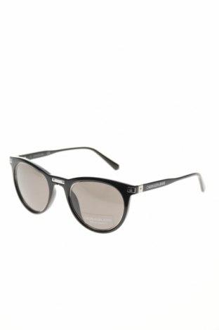 Слънчеви очила Calvin Klein Jeans, Цвят Черен, Цена 141,75лв.