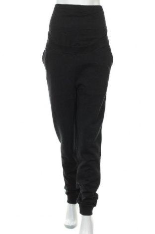 Спортно долнище за бременни Anna Field, Размер L, Цвят Черен, 60% памук, 40% полиестер, Цена 22,68лв.
