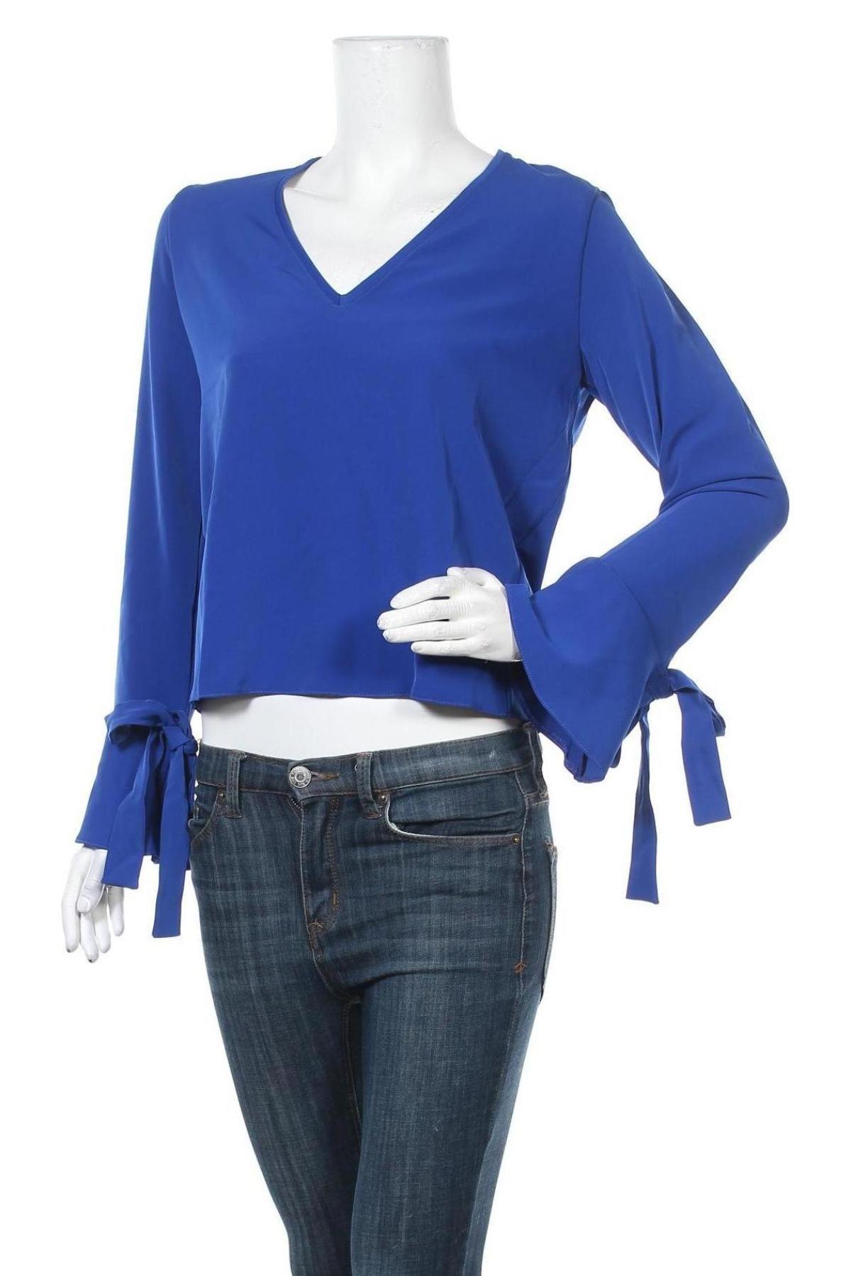 Bluză de femei LeGer By Lena Gercke, Mărime XS, Culoare Albastru, 95% poliester, 5% elastan, Preț 128,29 Lei