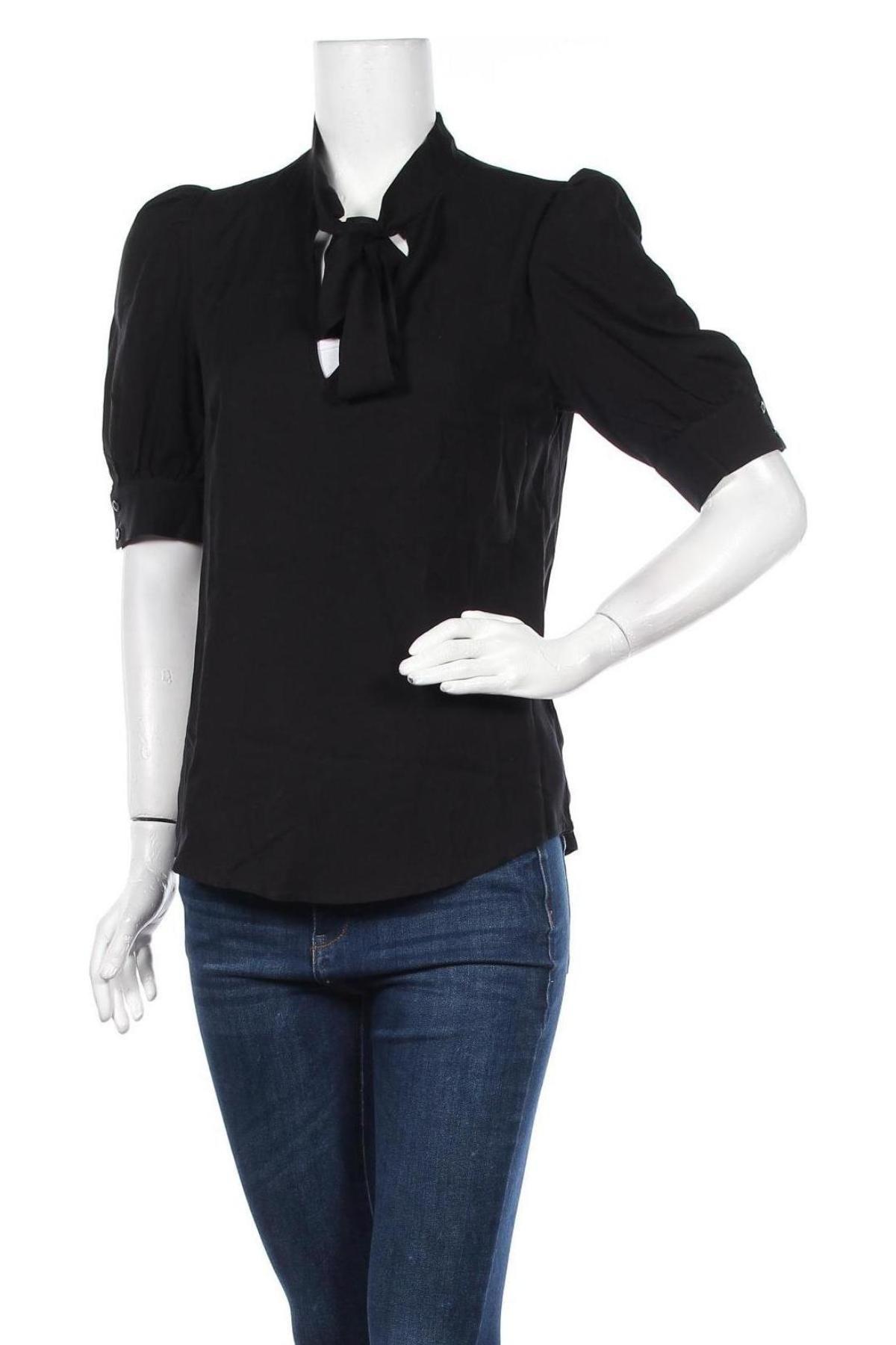 Γυναικεία μπλούζα Nife, Μέγεθος S, Χρώμα Μαύρο, Βισκόζη, Τιμή 10,21€
