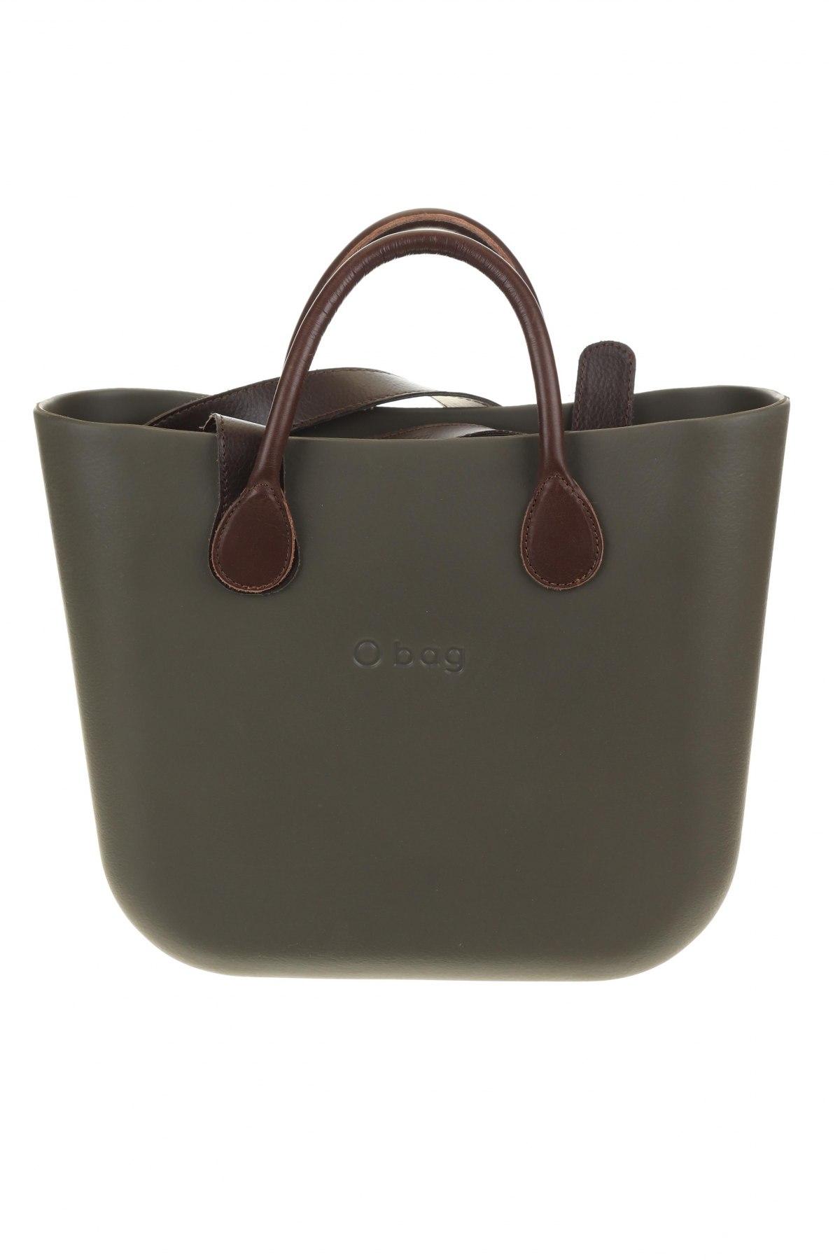 Дамска чанта O bag, Цвят Зелен, Полиуретан, Цена 104,25лв.