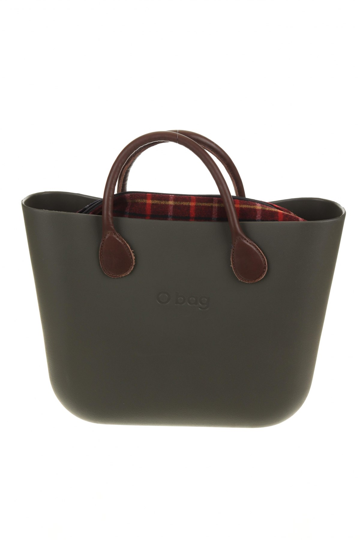 Дамска чанта O bag, Цвят Зелен, Полиуретан, Цена 106,50лв.