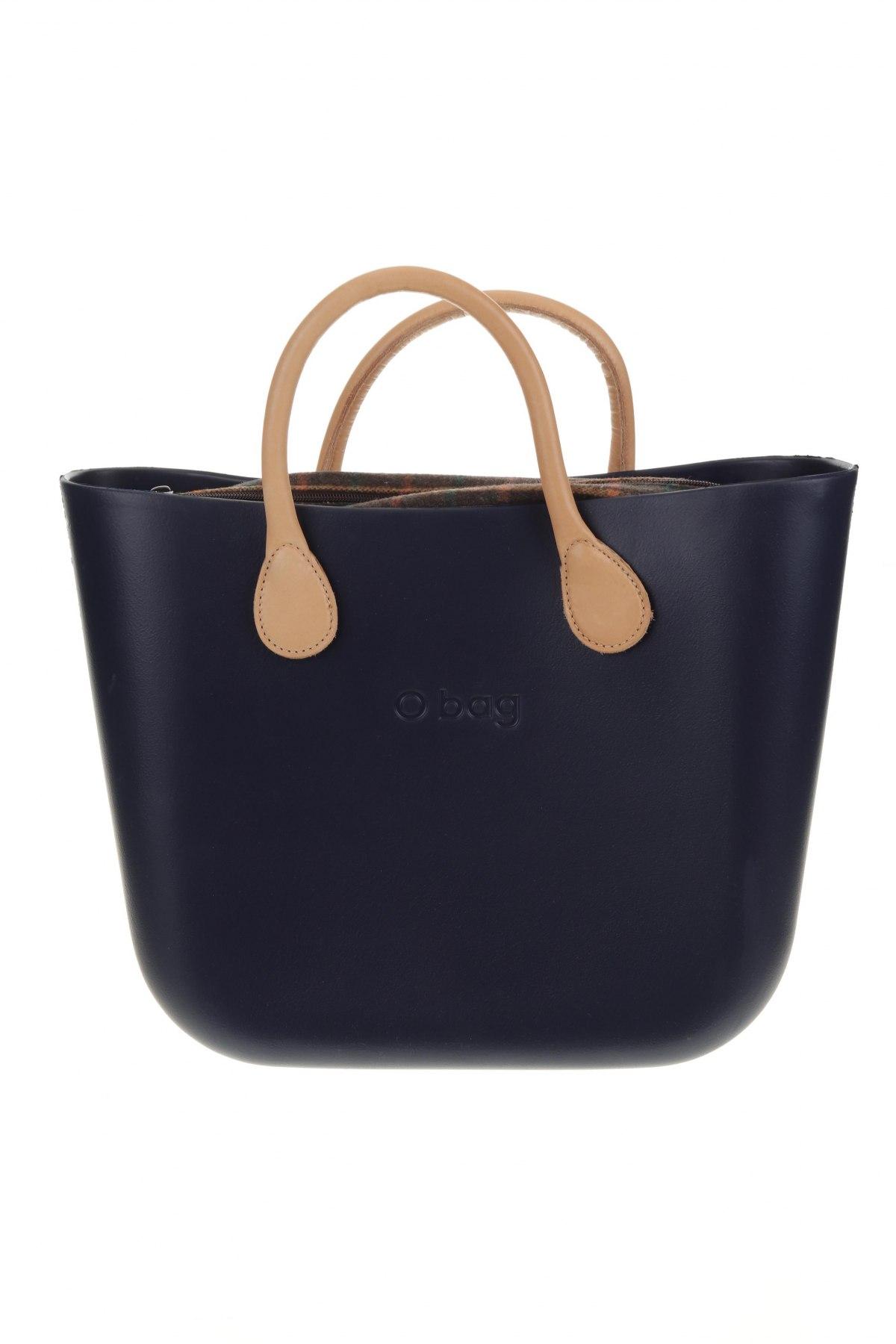 Дамска чанта O bag, Цвят Син, Полиуретан, Цена 89,25лв.