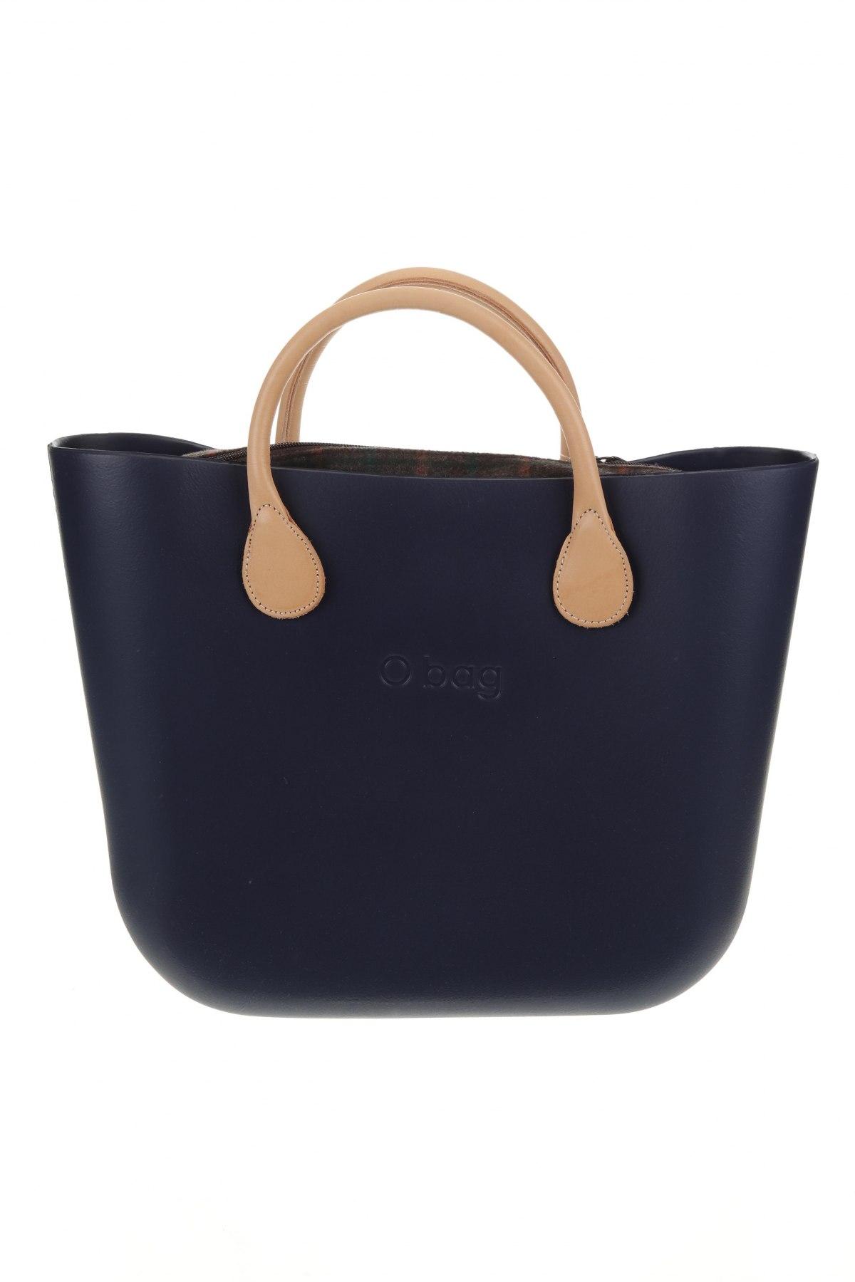 Дамска чанта O bag, Цвят Син, Полиуретан, Цена 111,75лв.