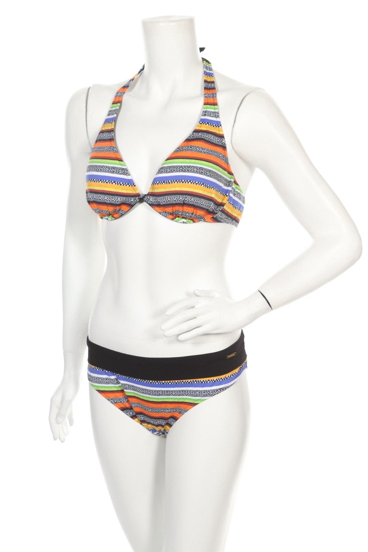 Дамски бански Bruno Banani, Размер XL, Цвят Многоцветен, 86% полиамид, 14% еластан, Цена 66,75лв.