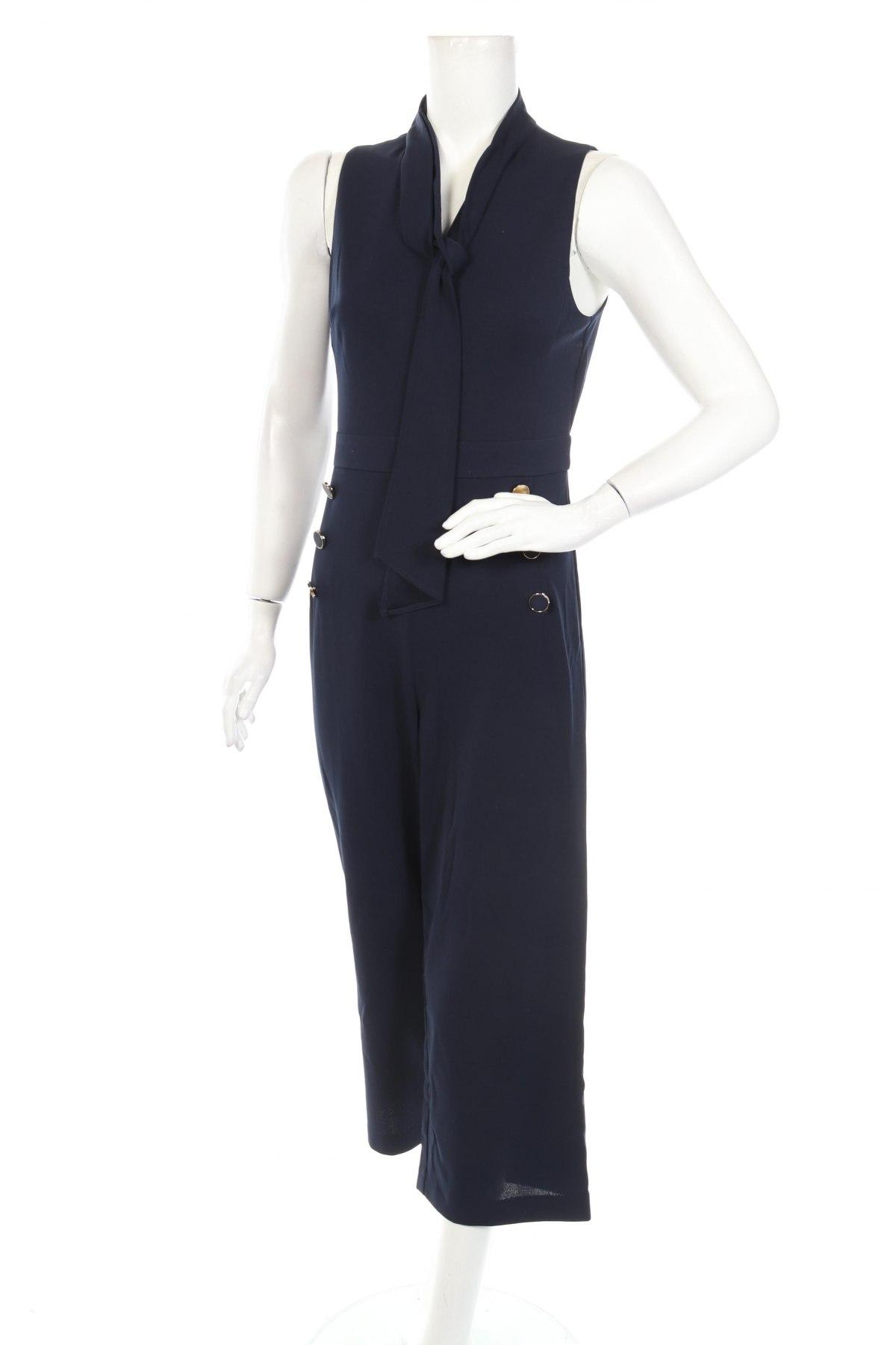 Γυναικεία σαλοπέτα DKNY, Μέγεθος S, Χρώμα Μπλέ, 96% πολυεστέρας, 4% ελαστάνη, Τιμή 76,94€