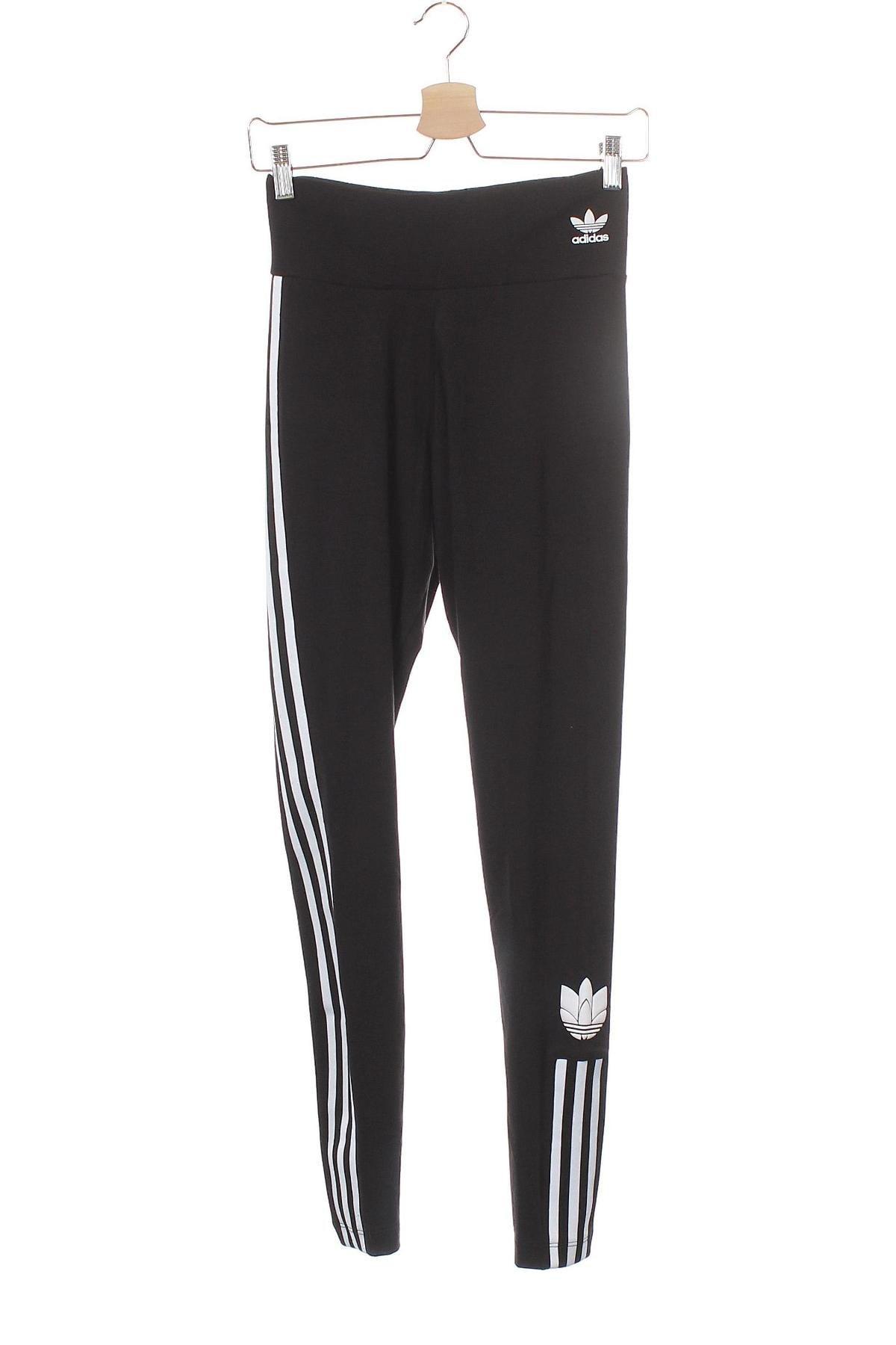 Дамски клин Adidas Originals, Размер XS, Цвят Черен, 92% памук, 8% еластан, Цена 39,60лв.