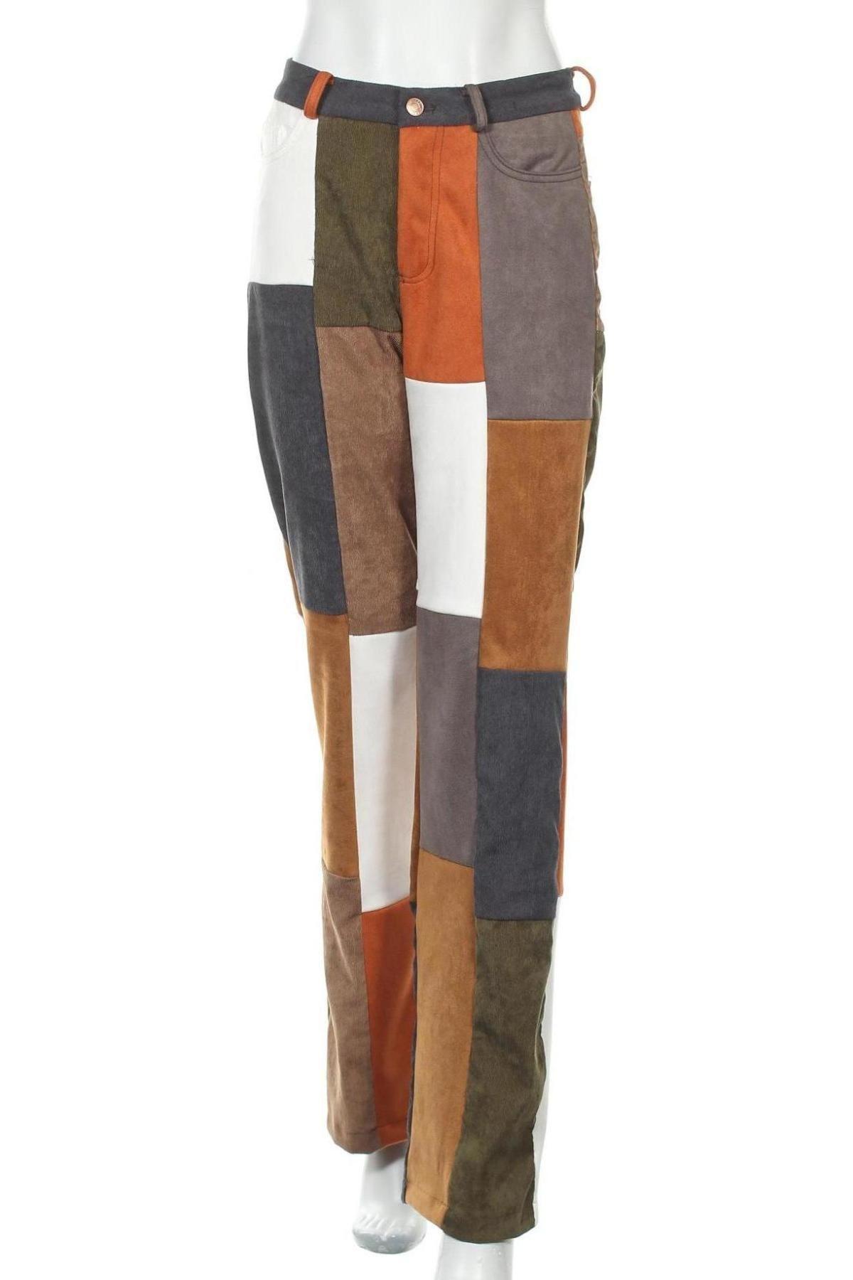 Дамски панталон Jaded London, Размер S, Цвят Многоцветен, Полиестер, Цена 42,00лв.
