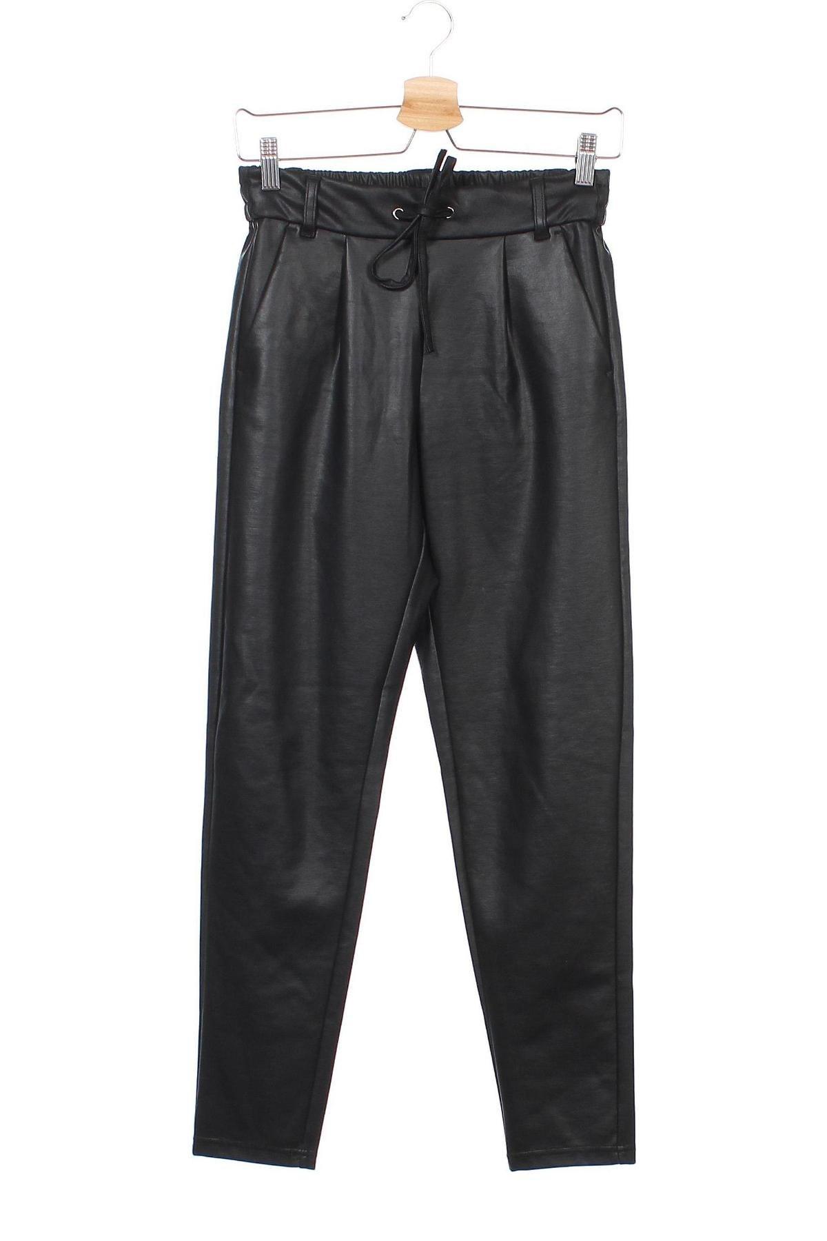 Дамски панталон ONLY, Размер XS, Цвят Черен, 95% полиестер, 5% еластан, Цена 42,00лв.