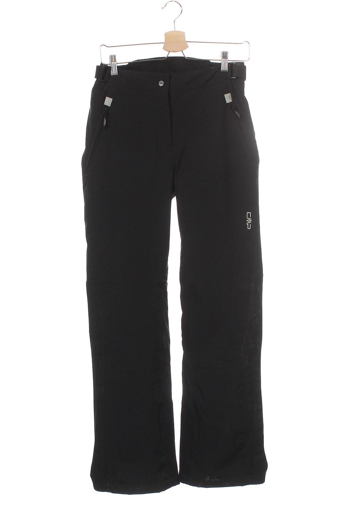 Дамски панталон за зимни спортове CMP, Размер XS, Цвят Черен, 90% полиестер, 10% еластан, Цена 94,50лв.