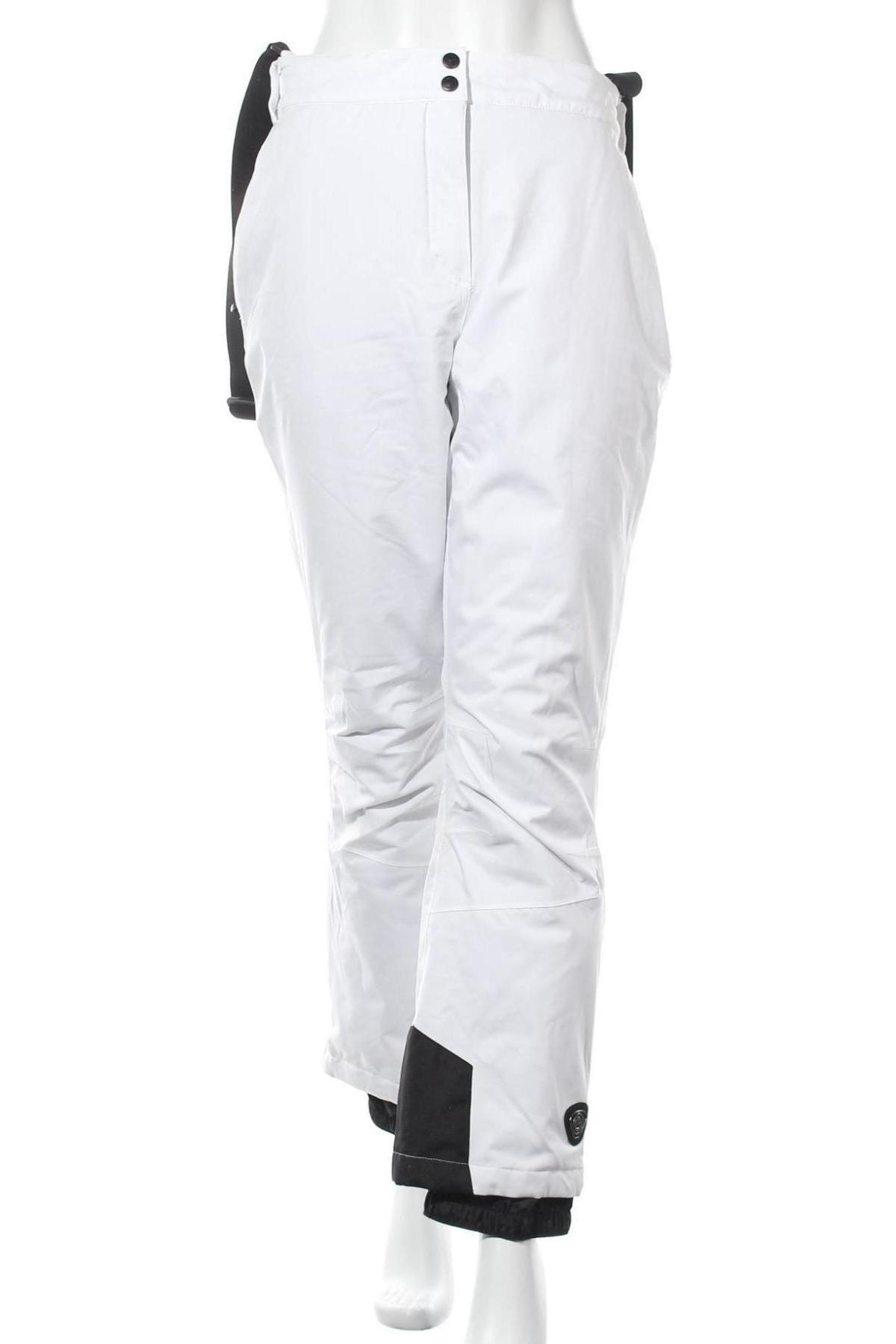 Дамски панталон за зимни спортове Killtec, Размер XL, Цвят Бял, Полиестер, Цена 42,64лв.