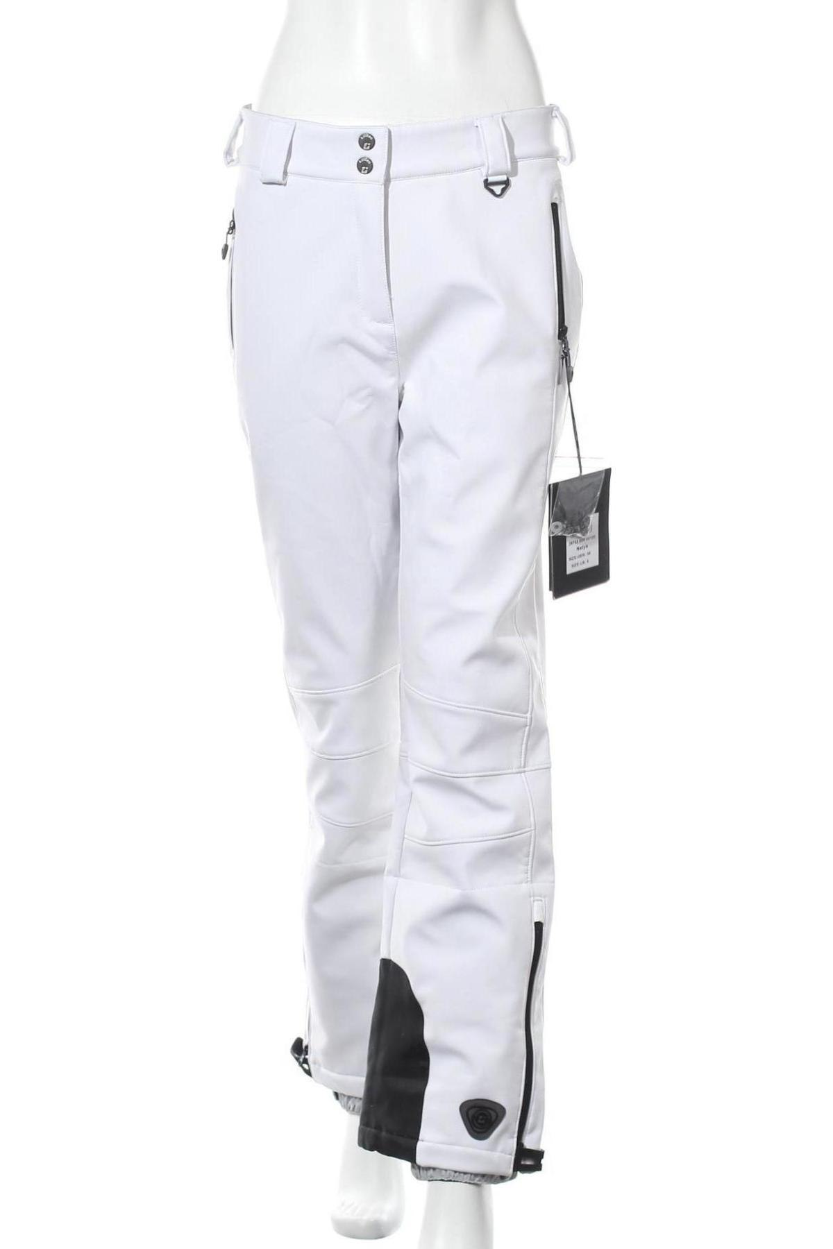 Дамски панталон за зимни спортове Killtec, Размер M, Цвят Бял, 94% полиестер, 6% еластан, Цена 46,36лв.