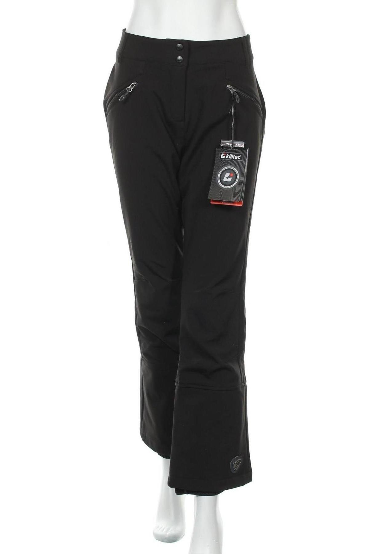 Дамски панталон за зимни спортове Killtec, Размер M, Цвят Черен, 94% полиестер, 6% еластан, Цена 81,12лв.