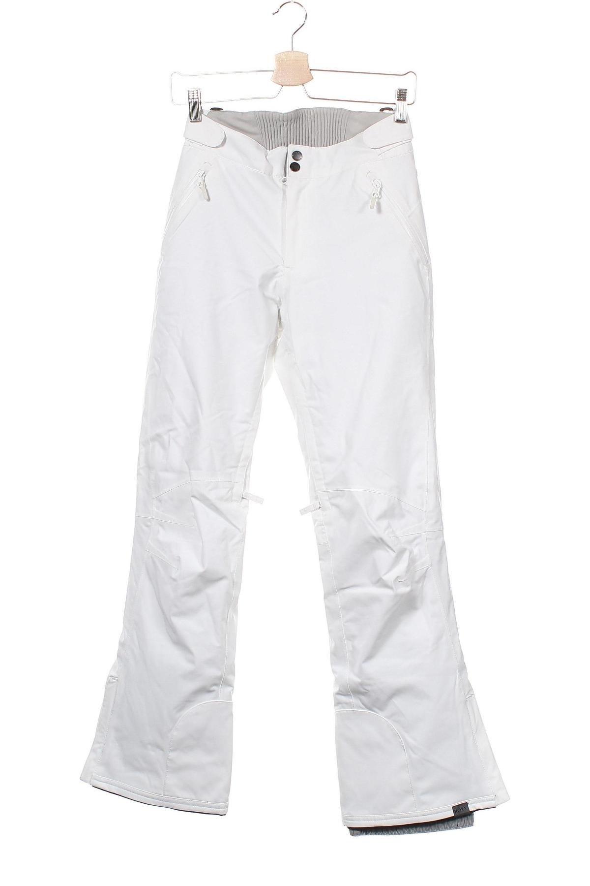 Дамски панталон за зимни спортове Roxy, Размер XS, Цвят Бял, Полиестер, Цена 46,50лв.