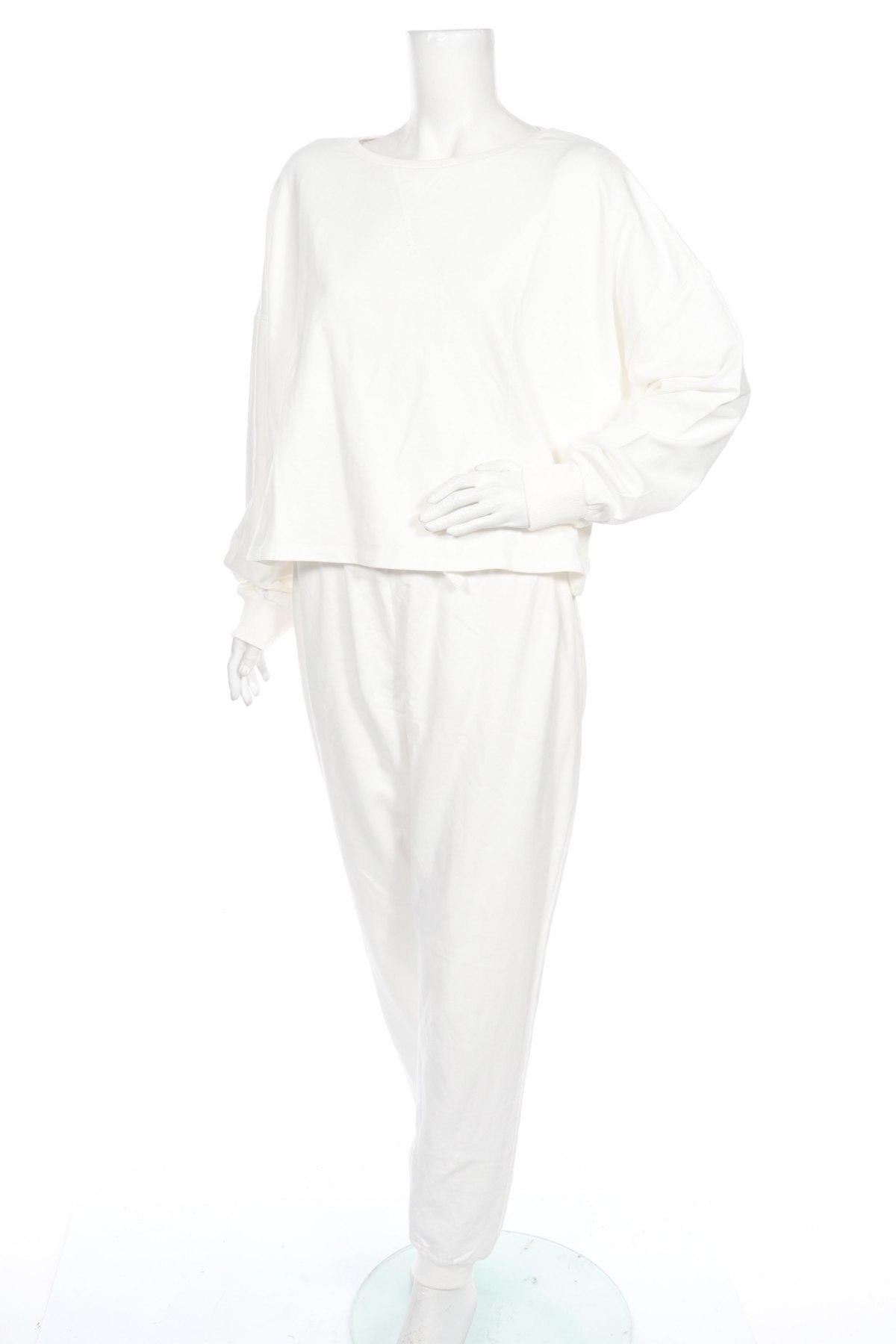 Дамски спортен комплект Anna Field, Размер XL, Цвят Бял, Памук, Цена 33,64лв.