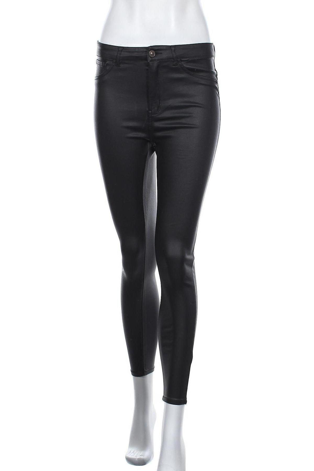 Γυναικείο παντελόνι Jdy, Μέγεθος M, Χρώμα Μαύρο, 76% βισκόζη, 21% πολυαμίδη, 3% ελαστάνη, Τιμή 20,88€