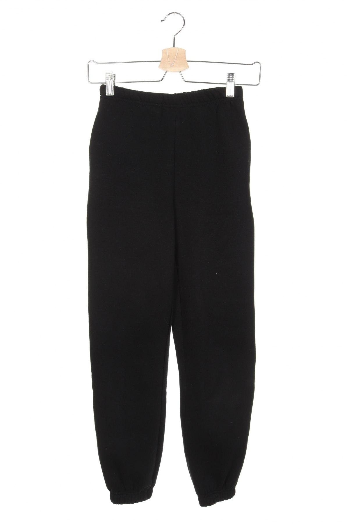 Дамско спортно долнище Gina Tricot, Размер XXS, Цвят Черен, 70% памук, 30% полиестер, Цена 23,32лв.