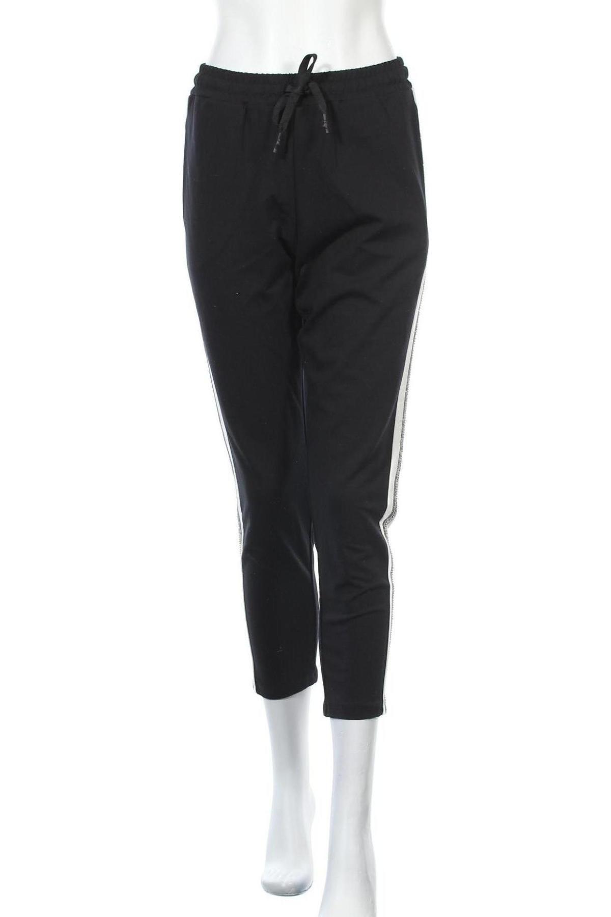 Дамско спортно долнище Imperial, Размер M, Цвят Черен, 95% памук, 5% еластан, Цена 48,95лв.