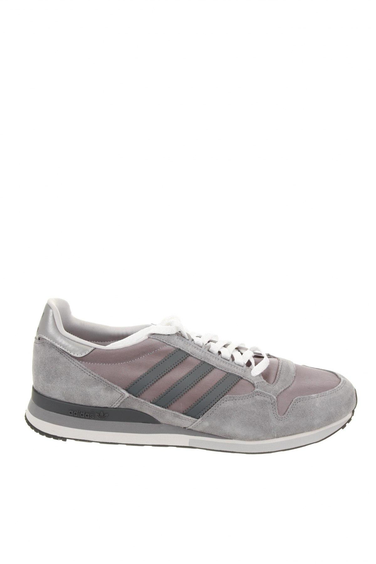 Мъжки обувки Adidas Originals, Размер 49, Цвят Сив, Естествен велур, текстил, Цена 68,02лв.